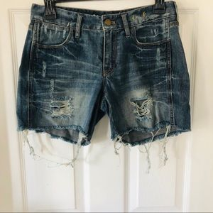 NWOT  Madewell distressed shorts